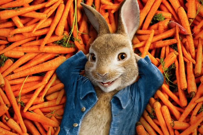 Peter rabbit movie carrots