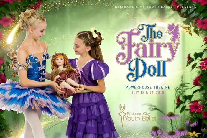 The Fairy Doll, Brisbane City Youth Ballet, ballerina, tutu, fairy