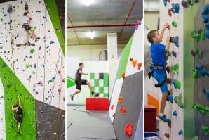 child rockclimbing agility, kids
