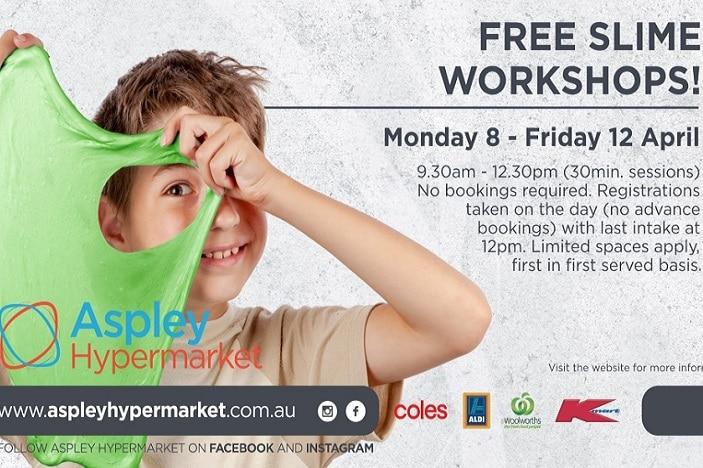 aspley hypermarket slime workshop