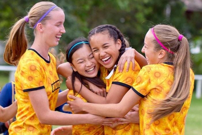 back of the Net movie, girls soccer team