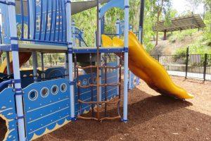 nautical themed playground, springfield park