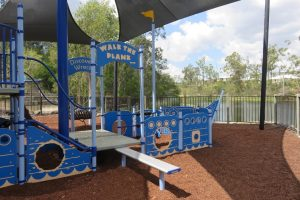 boat themed playground springfield, walk the plank