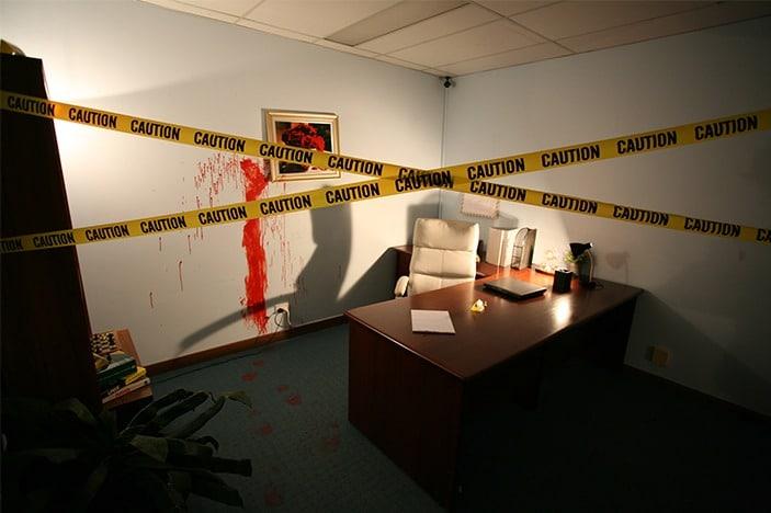 escape room murder theme
