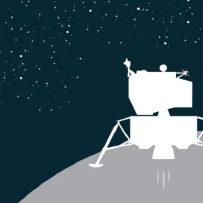 spacecraft workshops, spacecraft on the moon