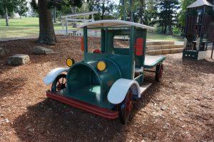 cool antique car play equipment