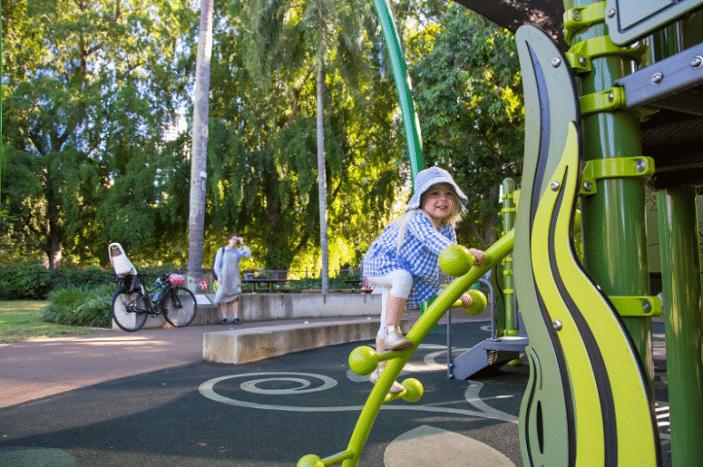 city botanic gardens playground brisbane