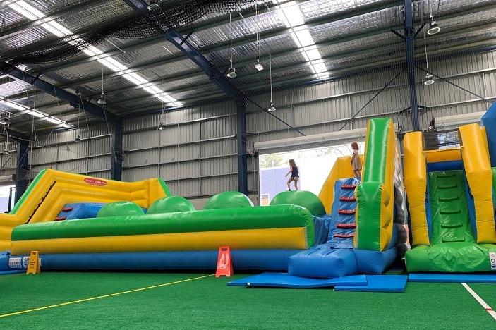inflatable playground arundel
