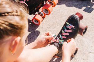 roller disco brisbane, kids skating