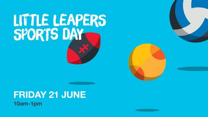 Little Leapers Under 5 event at Sky Zone Macgregor, sports day
