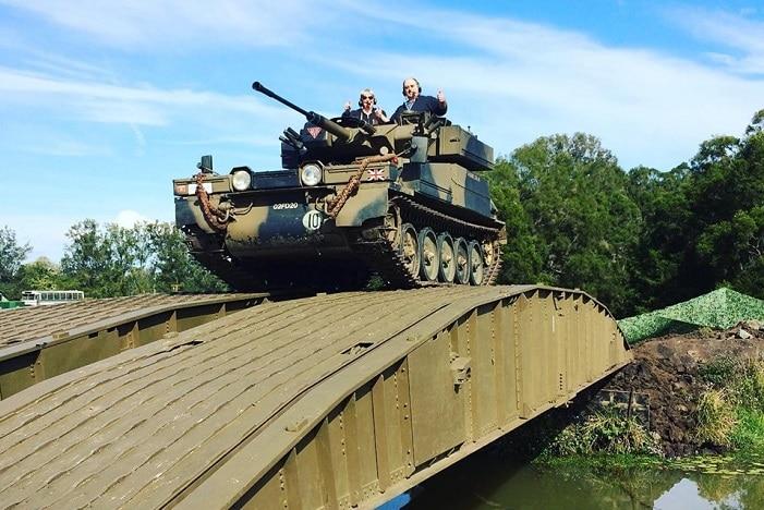 Tank Extravanagza, armored army tank, tank rides