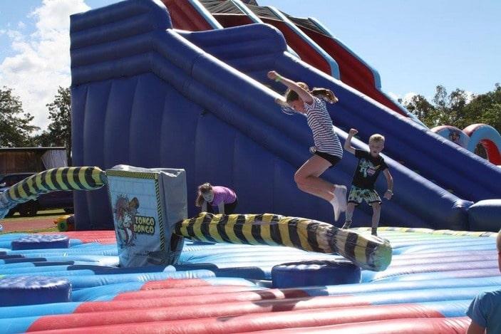 The Inflatable Factory, zongo bongo wipeout
