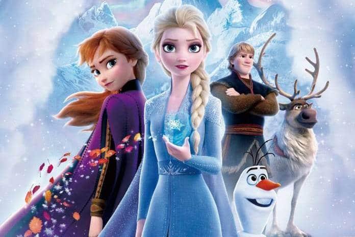 Frozen 2 characters 2019