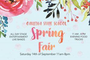oakleigh state school spring fair, spring flowers