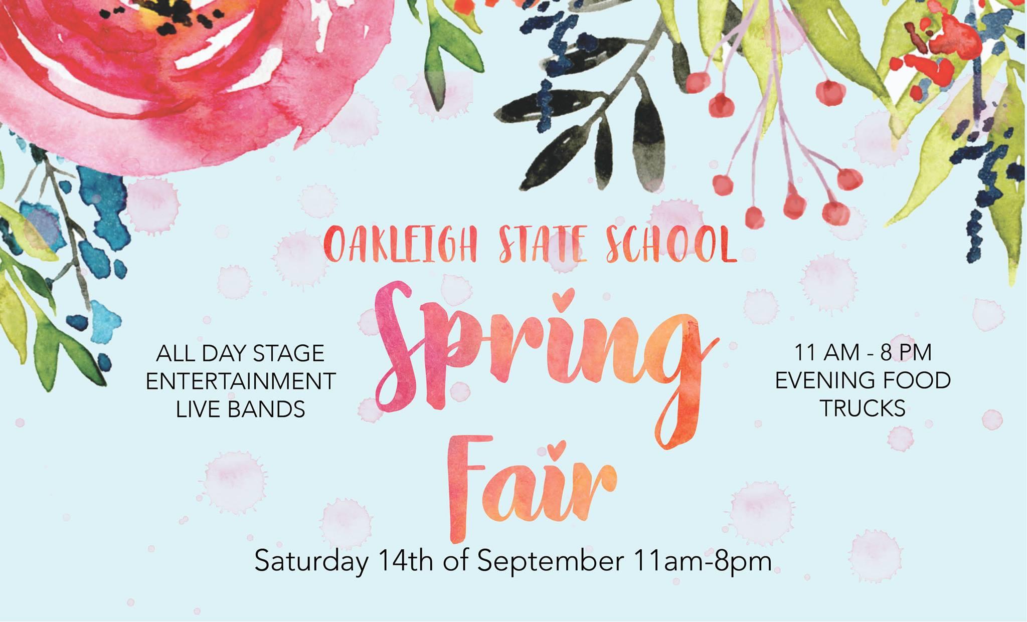 Oakleigh State School Spring Fair | Brisbane Kids