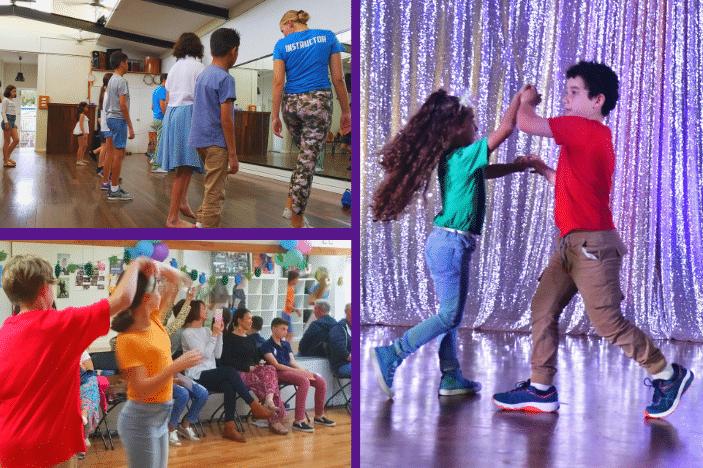 kids having fun south american dance