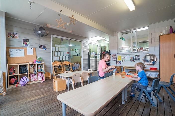 childcare centre room