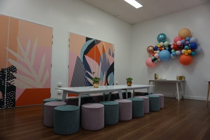 jugar party room