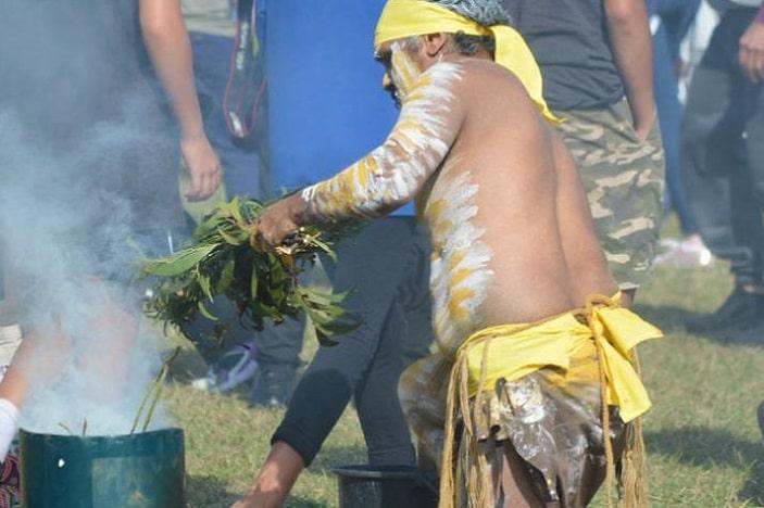 NAIDOC BCC, aboriginal ceremony