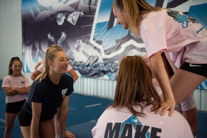 Queensland Cheer Elite, cheerleading classes