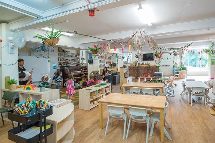 happy indoor play area