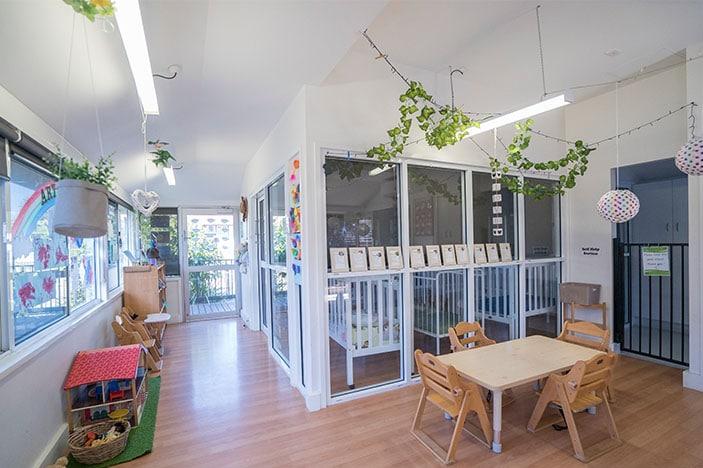 Bright airy childcare centre
