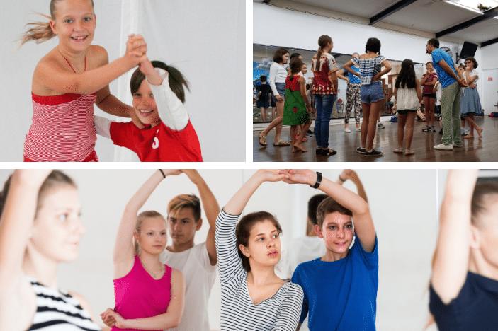 kids doing latin dance