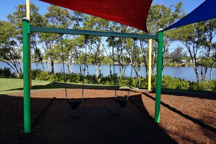 orleigh park west end swings