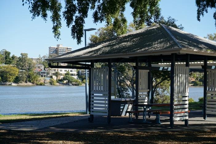 inner city playground picnic area