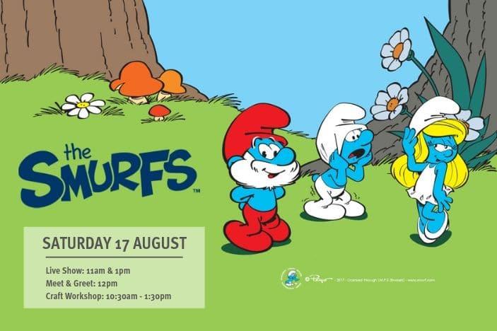 Free Smurfs Live Show, Papa Smurf, Smurfette