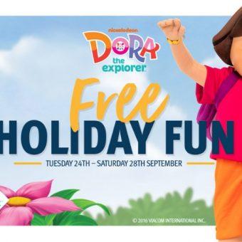 Ipswich Riverlink Shopping Centre Dora School Holiday fun