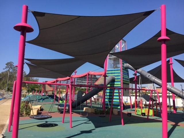 shade sails, orion playground
