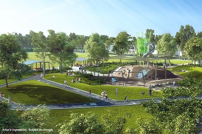 Pallara Disrict Park opening