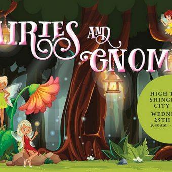 fairies and gnomes high tea, Shingle Inn