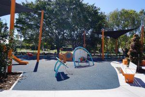 sunshine filled northside playground
