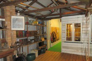 historic scene in redcliffe museum