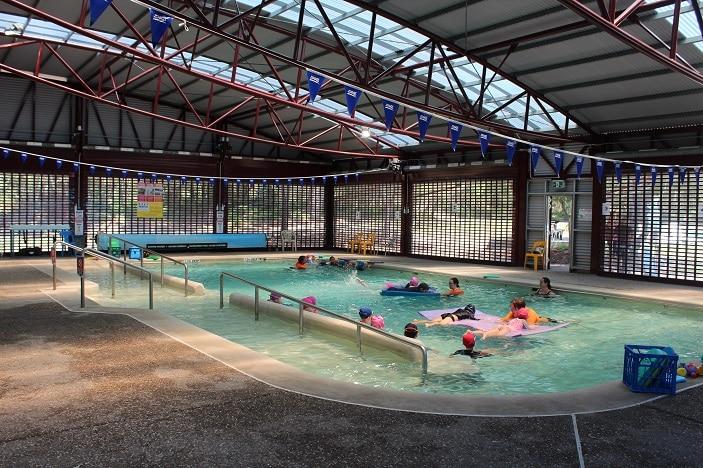 indoor pool bribie island