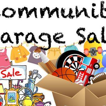 community mega garage sale