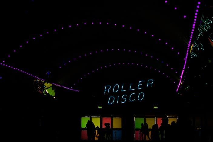 roller disco, roller skating