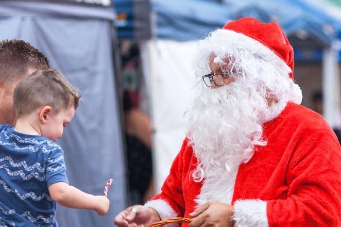 Beenleigh Twilight Christmas markets, santa