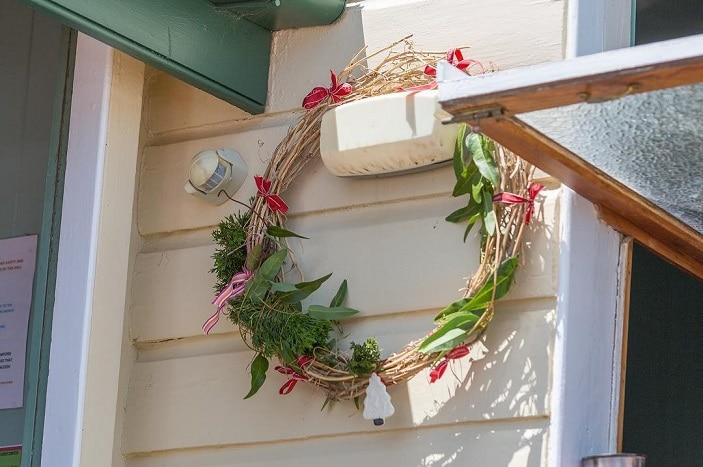 Christmas Markets Samford Homemade, Christmas wreath