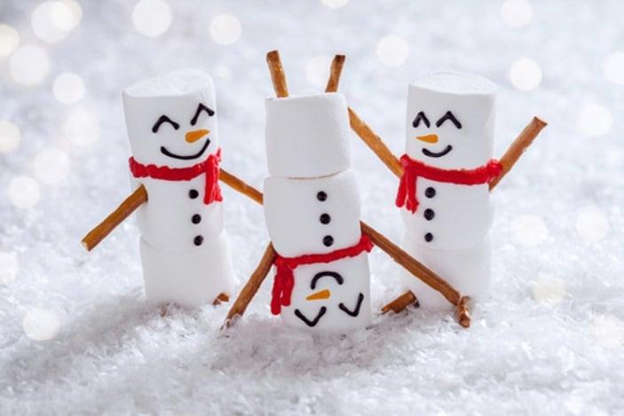 Free Kids Christmas workshops Westfield North Lakes snowman