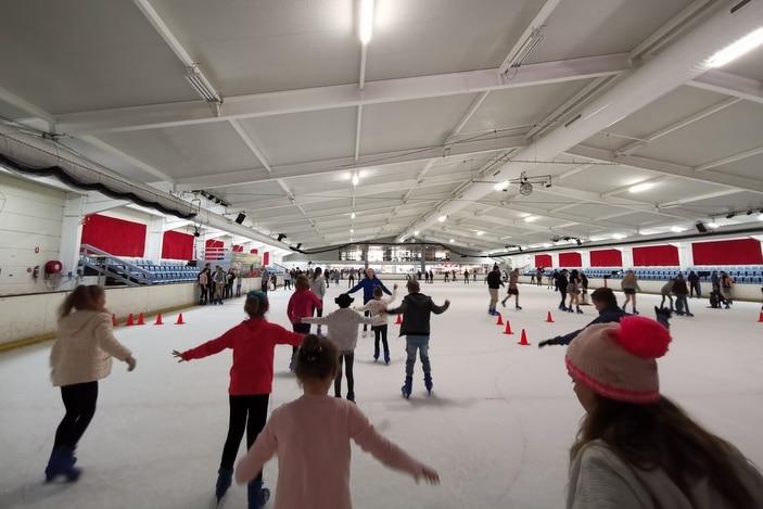 Iceworld, ice skating parties