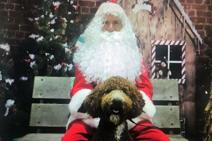 Parkers Pets free Santa photo