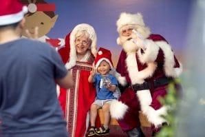 Santa's Stop Over, Santa and Mrs Claus