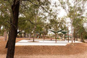 concrete area dm henderson park