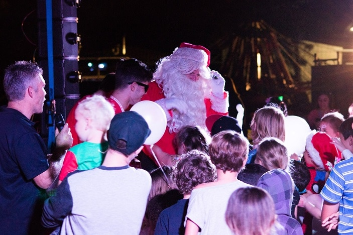 Community Christmas Celebration Salvos North Brisbane, santa