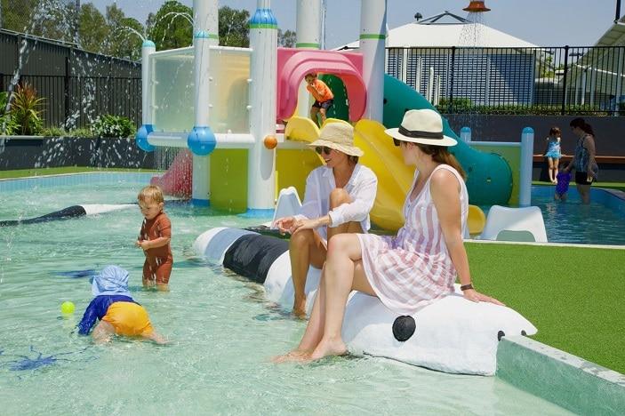 splash pool rackley