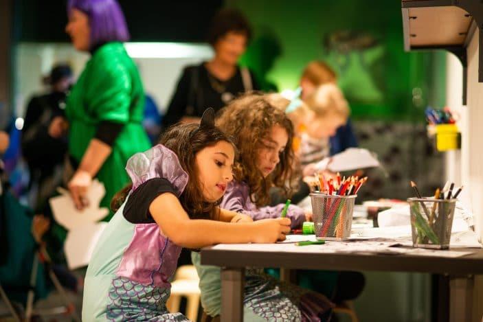 Colourtopia in the Summer Studio, CHILDREN DRAWING