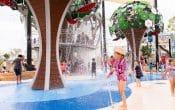 flastone water park fountain